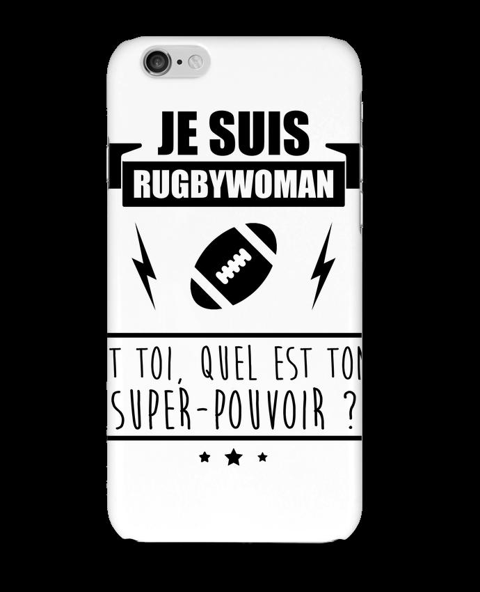 Carcasa  Iphone 6 Je suis rugbywoman et toi, quel est ton super-pouvoir ? por Benichan