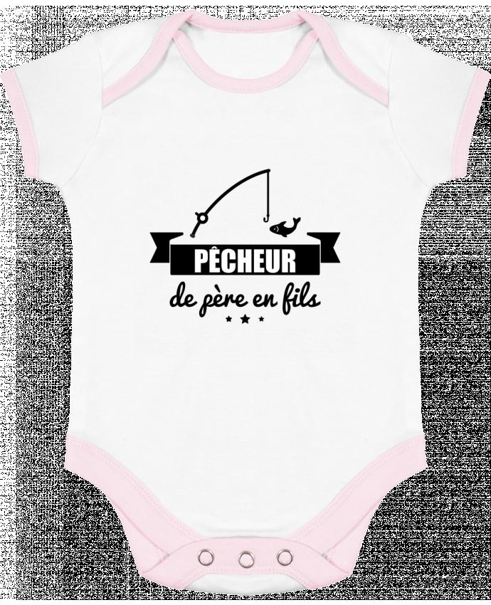 Body Bebé Contraste Pêcheur de père en fils, pêcheur, pêche por Benichan