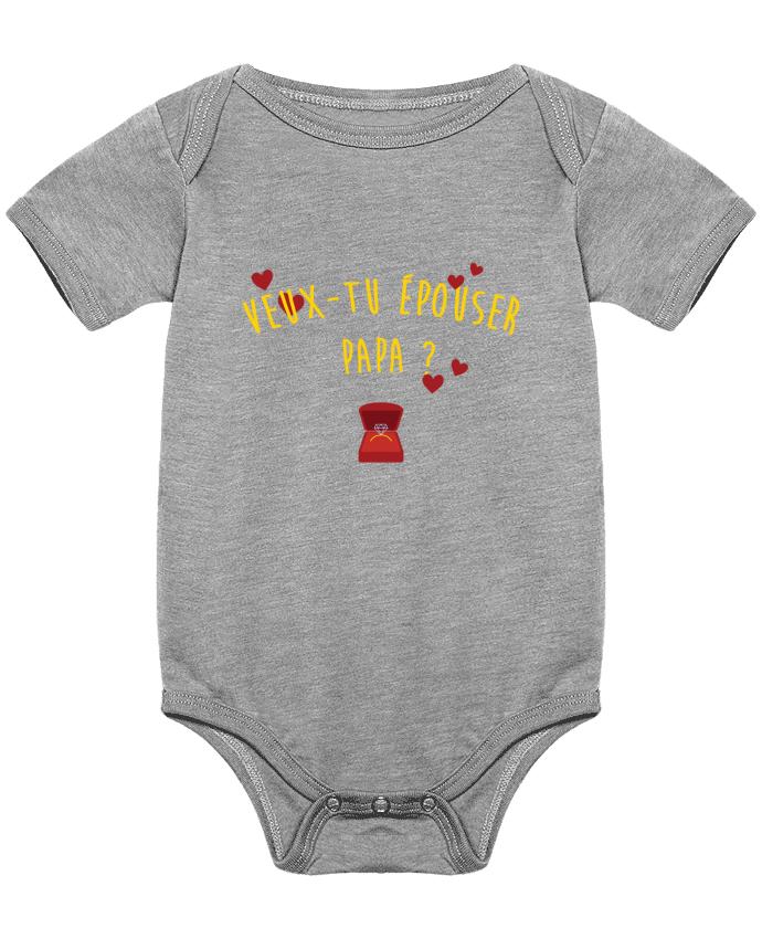 Body Bebé Veux-tu épouser papa ? por tunetoo