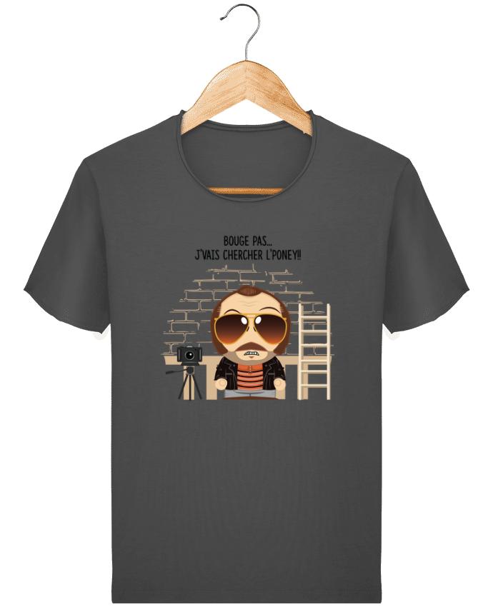Camiseta Hombre Stanley Imagine Vintage Claudy Focan et le Poney por PTIT MYTHO