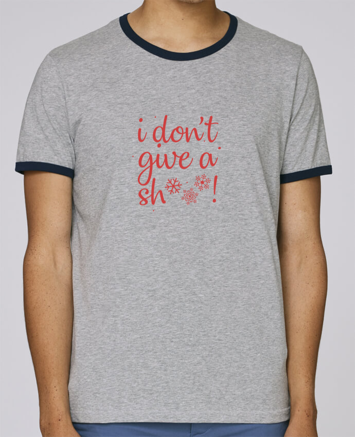 Camiseta Bordes Contrastados Hombre Stanley Holds I don't give a sh*** ! pour femme por Nana