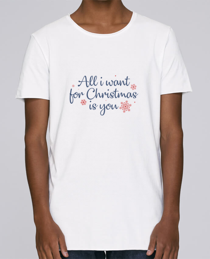 Camiseta Hombre Tallas Grandes Stanly Skates All i want for christmas is you por Nana