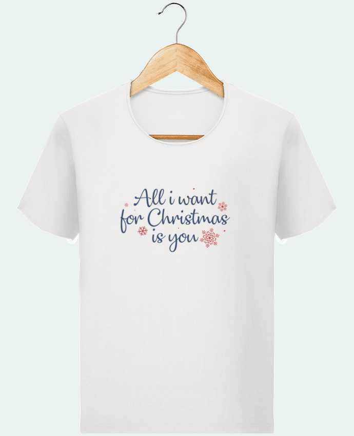 Camiseta Hombre Stanley Imagine Vintage All i want for christmas is you por Nana