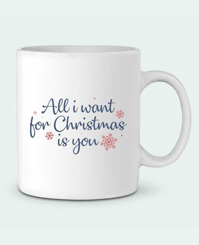 Taza Cerámica All i want for christmas is you por Nana