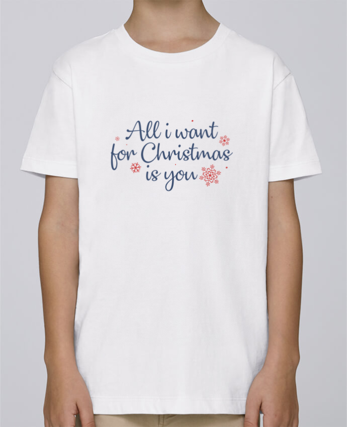 Camiseta de cuello redondo Stanley Mini Paint All i want for christmas is you por Nana