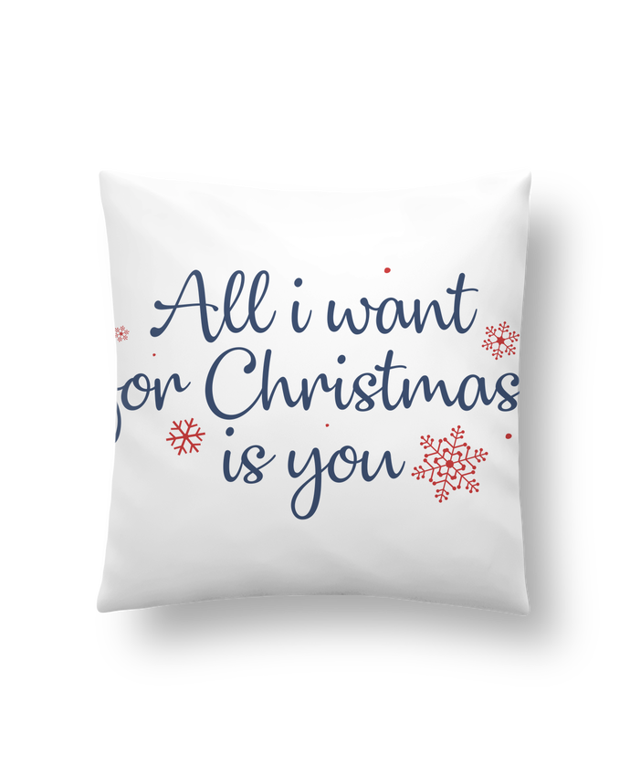 Cojín Sintético Suave 45 x 45 cm All i want for christmas is you por Nana