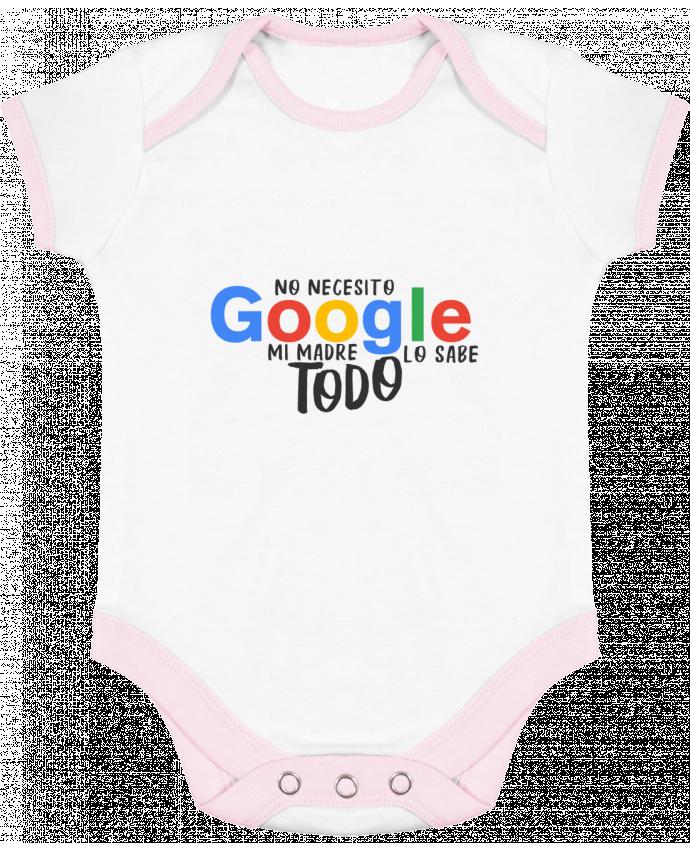 Body Bebé Contraste Google - Mi madre lo sabe todo por tunetoo
