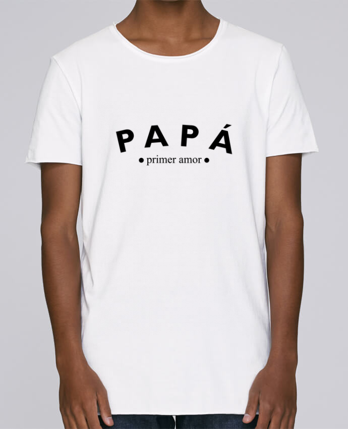 Camiseta Hombre Tallas Grandes Stanly Skates Papá primer amor por tunetoo