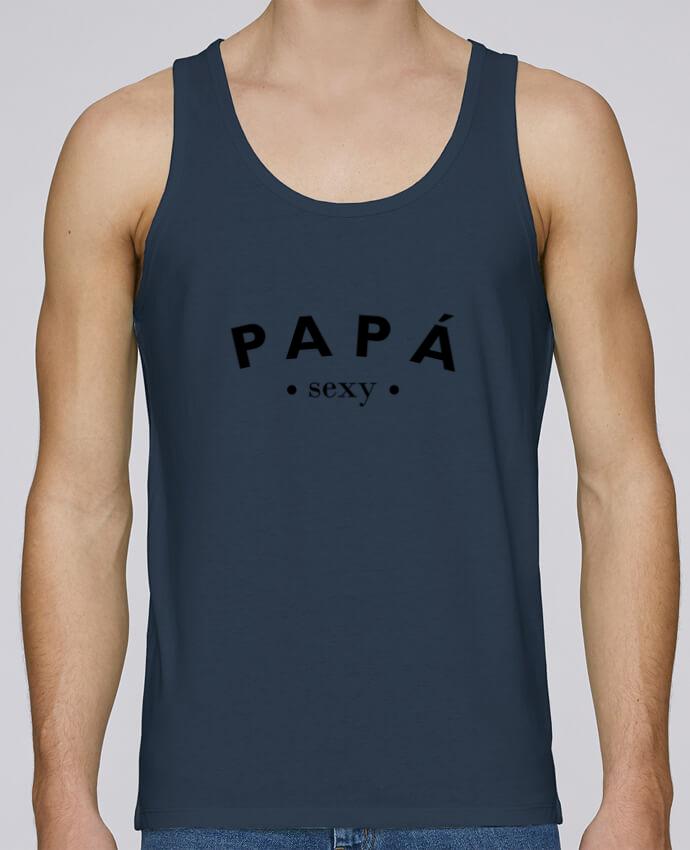 Camiseta de tirantes algodón orgánico hombre Stanley Runs Papá sexy por tunetoo 100% coton bio