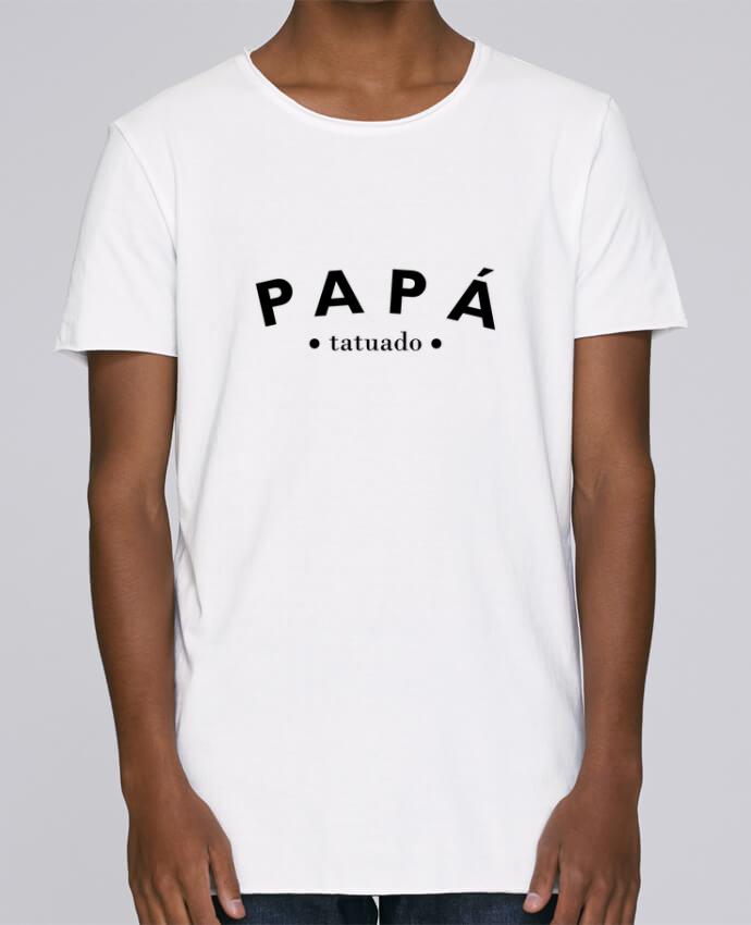 Camiseta Hombre Tallas Grandes Stanly Skates Papá tatuado por tunetoo