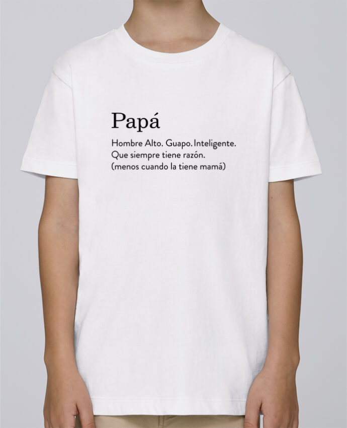 Camiseta de cuello redondo Stanley Mini Paint Papá definición por tunetoo