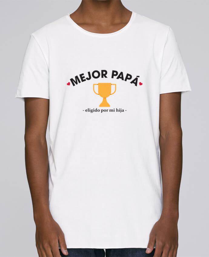 Camiseta Hombre Tallas Grandes Stanly Skates Mejor papá - eligido po mi hija - por tunetoo