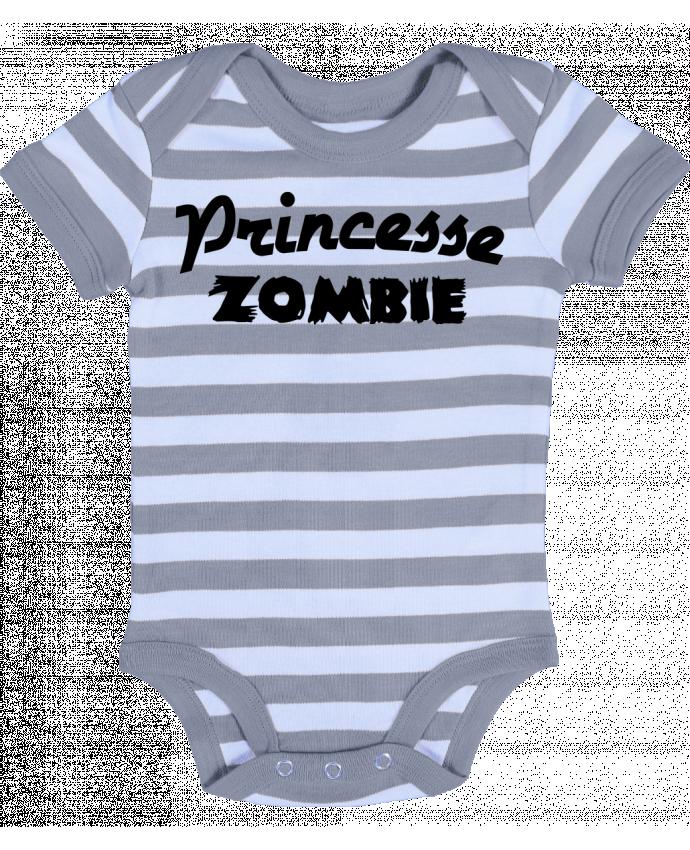 Body Bebé a Rayas Princesse Zombie - L'Homme Sandwich
