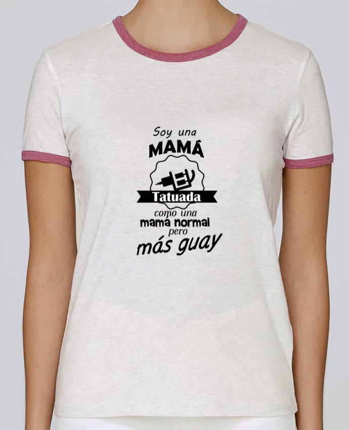 Camiseta Mujer Stella Returns Mamá tatuada pour femme por tunetoo