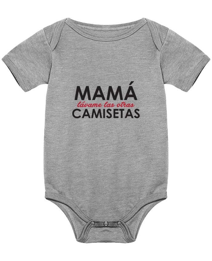 Body Bebé Mamá lávame las otras camisetas por tunetoo