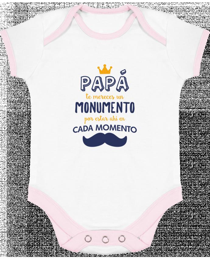 Body Bebé Contraste Papá te mereces un monumento por tunetoo