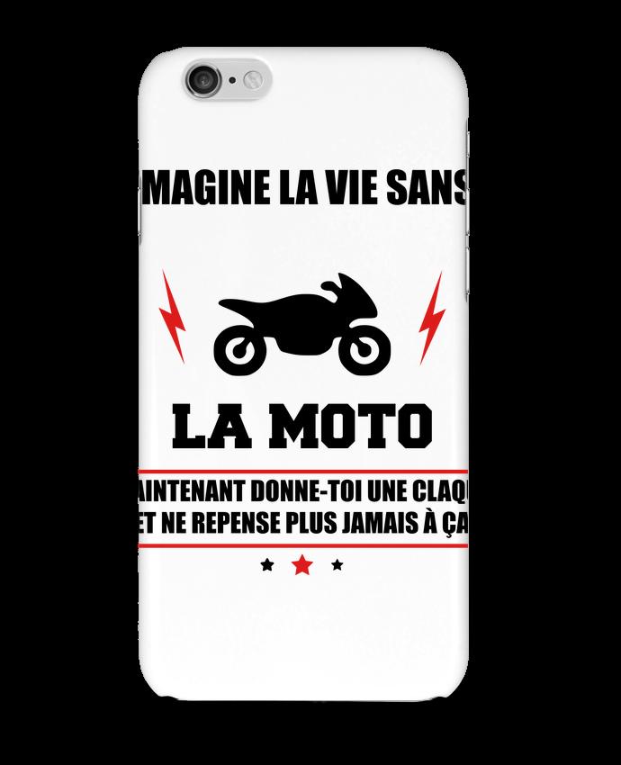 Carcasa  Iphone 6 Imagine la vie sans la moto por Benichan