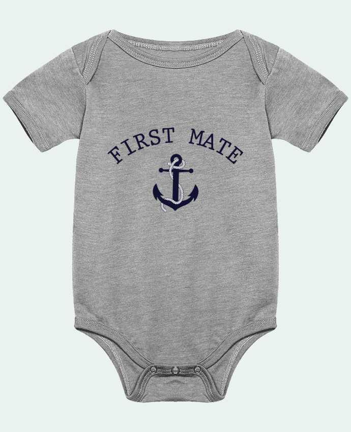 Body Bebé Capitain and first mate por tunetoo