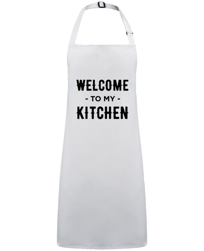 Delantal Sin Bolsillo Welcome to my kitchen por  tunetoo