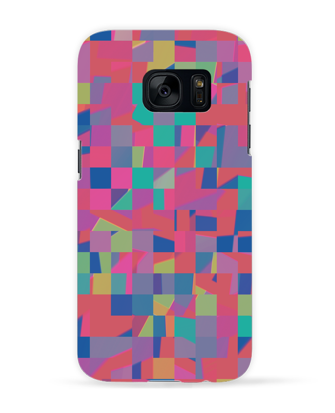 Carcasa Samsung Galaxy S7 Pink Check por L'Homme Sandwich