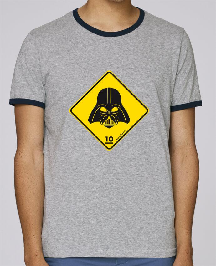 Camiseta Bordes Contrastados Hombre Stanley Holds Dark Vador pour femme por Zorglub