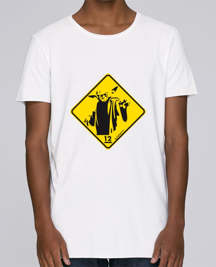 Camiseta Hombre Tallas Grandes Stanly Skates Yoda por Zorglub