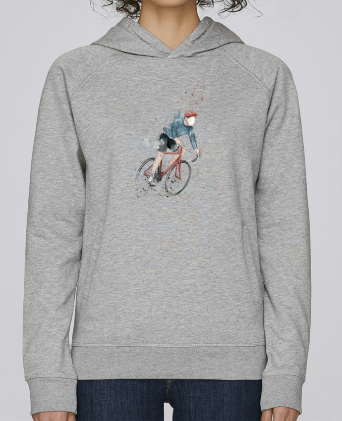 Sudadera Hombre Capucha Stanley Base I want to Ride por Balàzs Solti