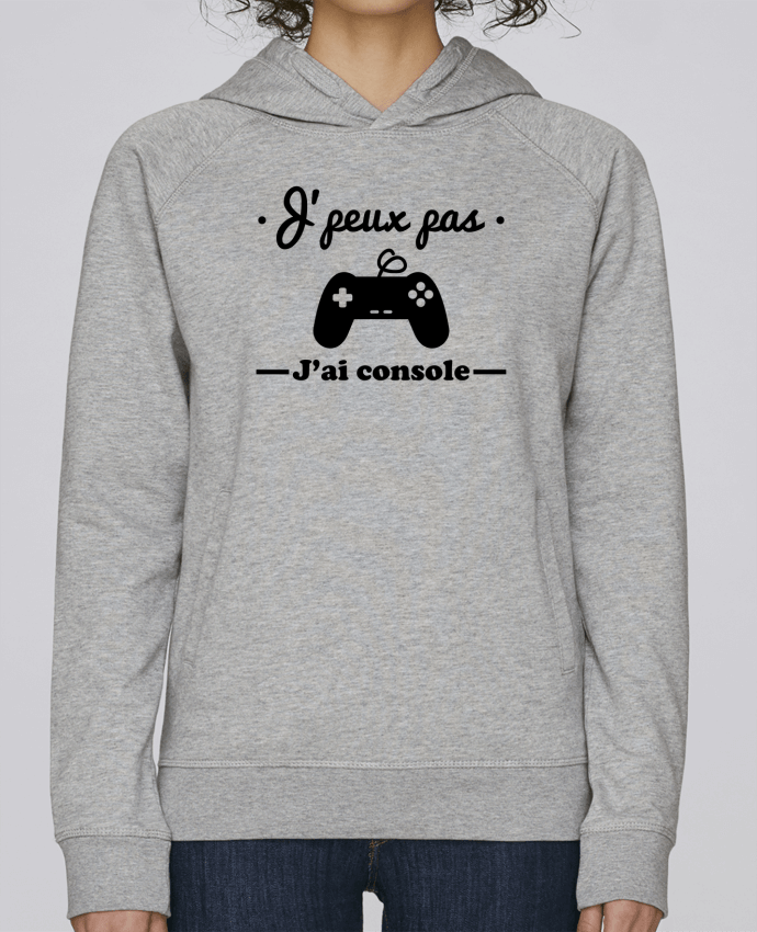 Sudadera Hombre Capucha Stanley Base J'peux pas j'ai console ,geek,gamer,gaming por Benichan