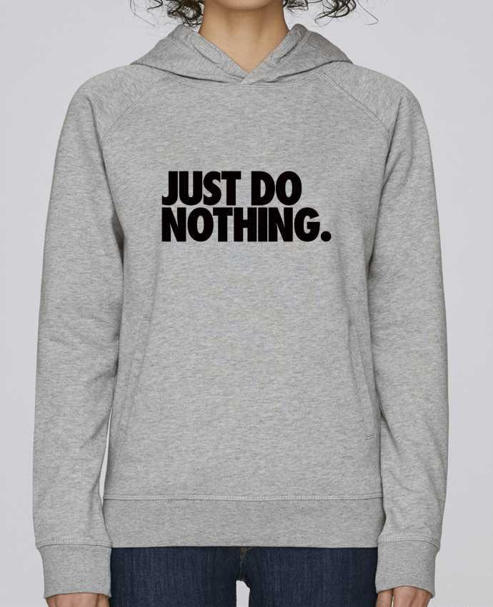 Sudadera Hombre Capucha Stanley Base Just Do Nothing por Freeyourshirt.com