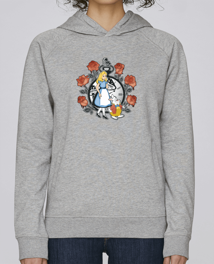Sudadera Hombre Capucha Stanley Base Time for Wonderland por Kempo24