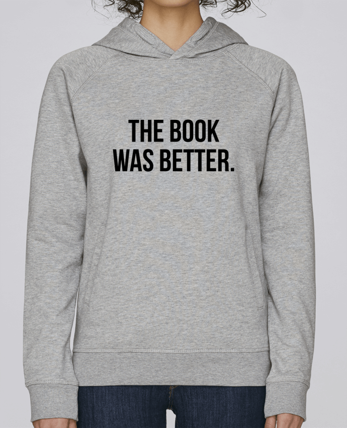 Sudadera Hombre Capucha Stanley Base The book was better. por Bichette