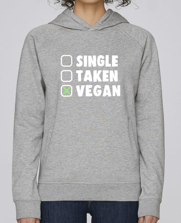 Sudadera Hombre Capucha Stanley Base Single Taken Vegan por Bichette