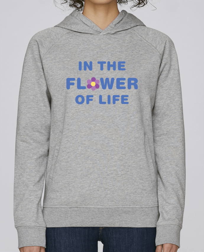 Sudadera Hombre Capucha Stanley Base In the flower of life por tunetoo