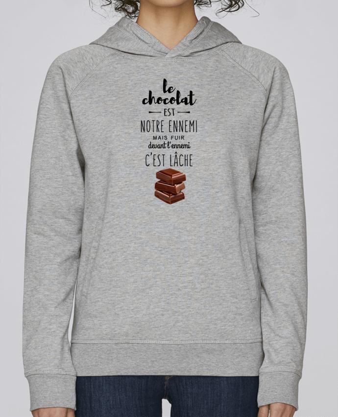 Sudadera Hombre Capucha Stanley Base chocolat por DesignMe