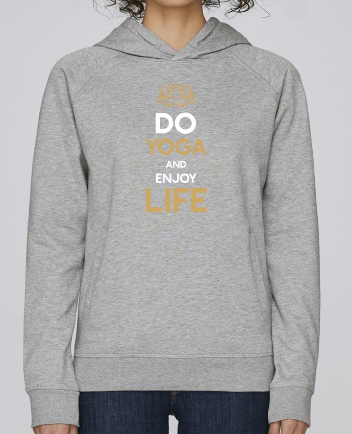 Sudadera Hombre Capucha Stanley Base Yoga Enjoy Life por Original t-shirt