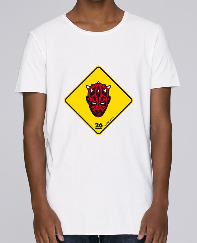 Camiseta Hombre Tallas Grandes Stanly Skates Darth Maul por Zorglub