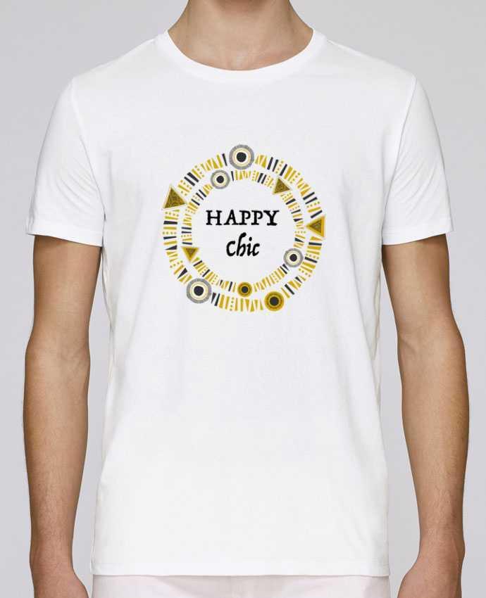 Camiseta Cuello Redondo Stanley Leads Happy Chic por LF Design