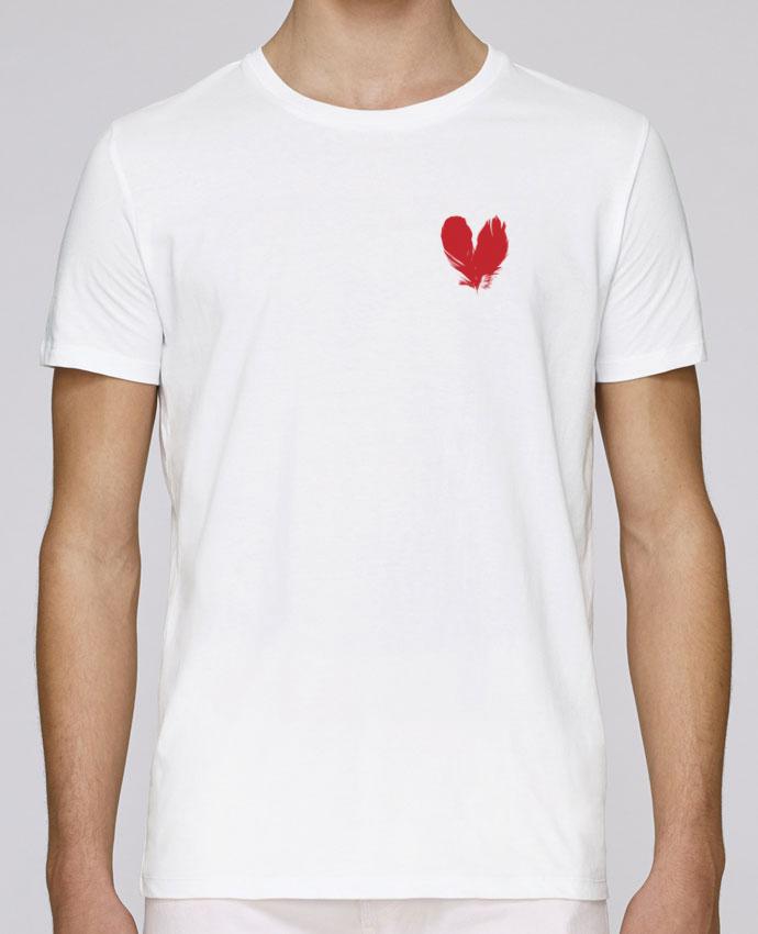 Camiseta Cuello Redondo Stanley Leads coeur de plumes por Studiolupi