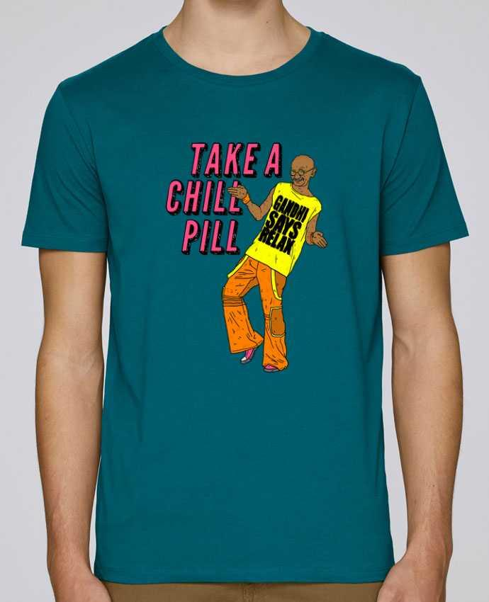 Camiseta Cuello Redondo Stanley Leads Chill Pill por Nick cocozza