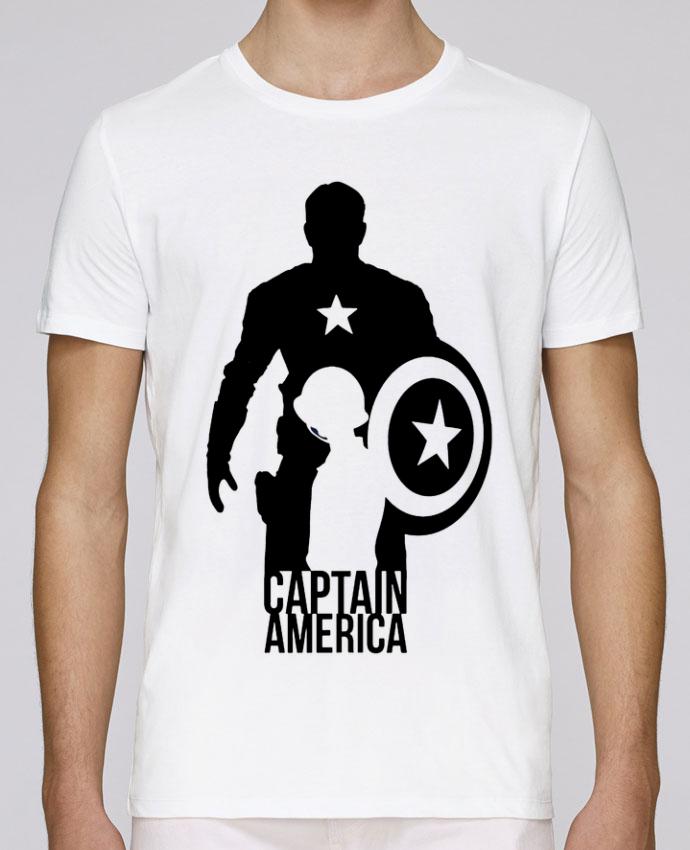 Camiseta Cuello Redondo Stanley Leads Captain america por Kazeshini