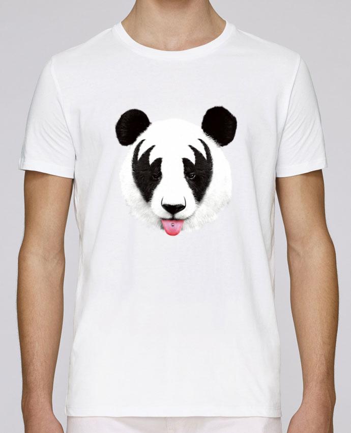 Camiseta Cuello Redondo Stanley Leads Kiss of a panda por robertfarkas