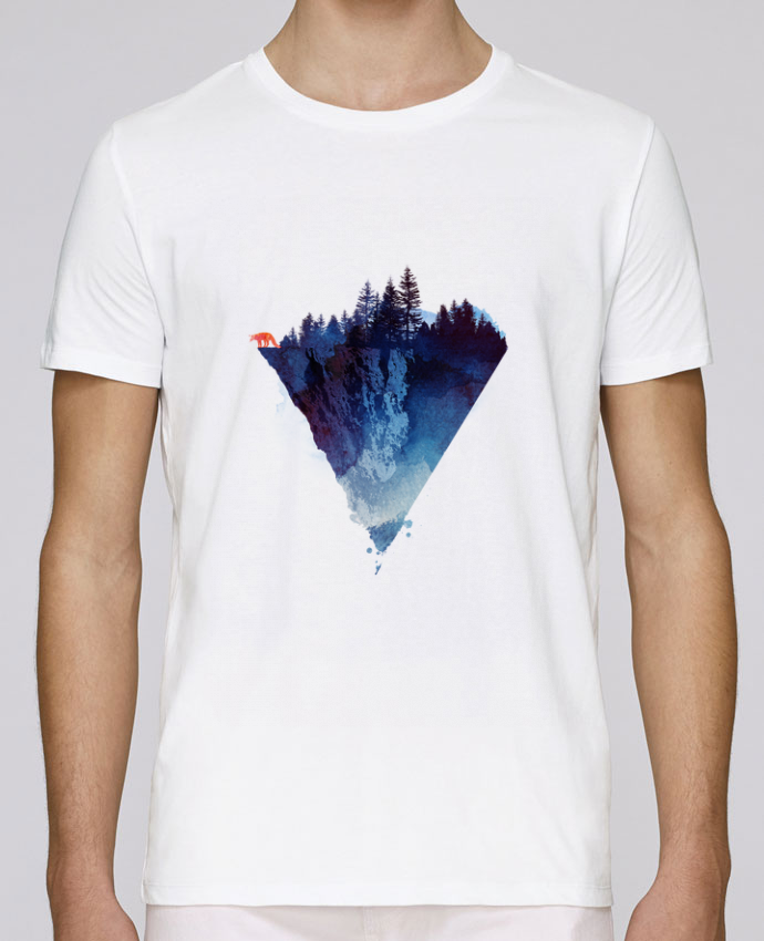 Camiseta Cuello Redondo Stanley Leads Near to the edge por robertfarkas
