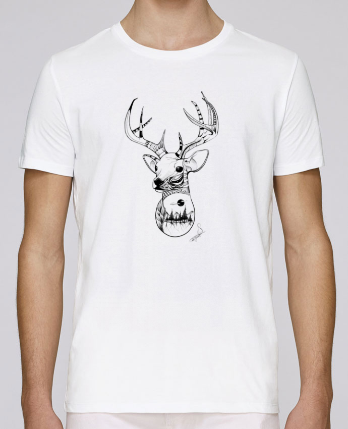 Camiseta Cuello Redondo Stanley Leads .American Wolf. por The Wild Light