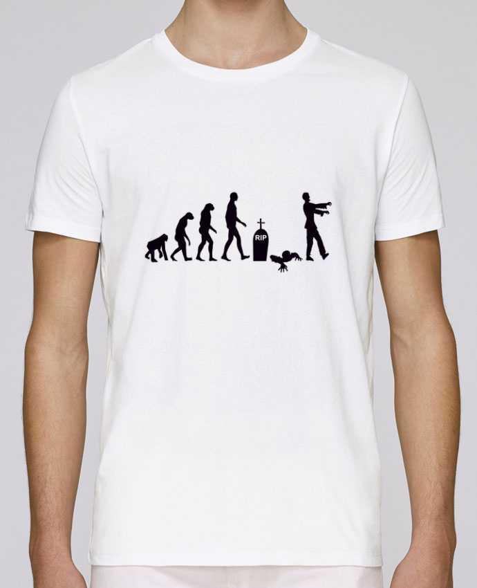 Camiseta Cuello Redondo Stanley Leads Zombie évolution por Benichan