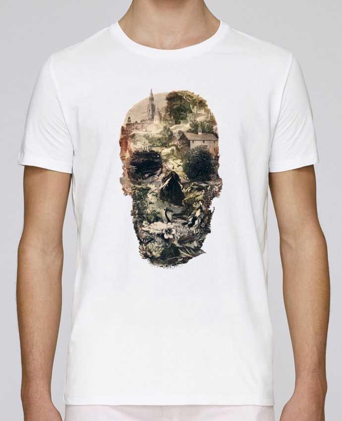 Camiseta Cuello Redondo Stanley Leads Skull town por ali_gulec