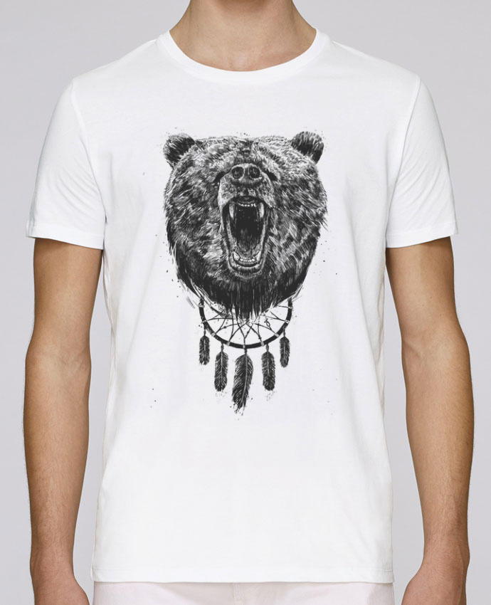 Camiseta Cuello Redondo Stanley Leads dont wake the bear por Balàzs Solti