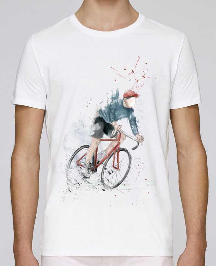 Camiseta Cuello Redondo Stanley Leads I want to Ride por Balàzs Solti