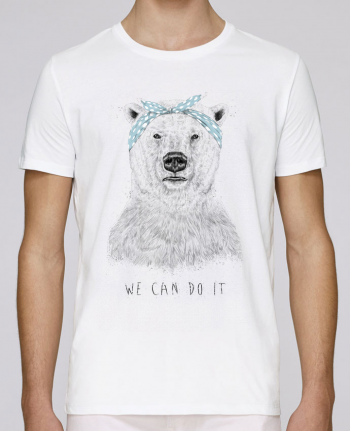 Camiseta Cuello Redondo Stanley Leads we_can_do_it por Balàzs Solti