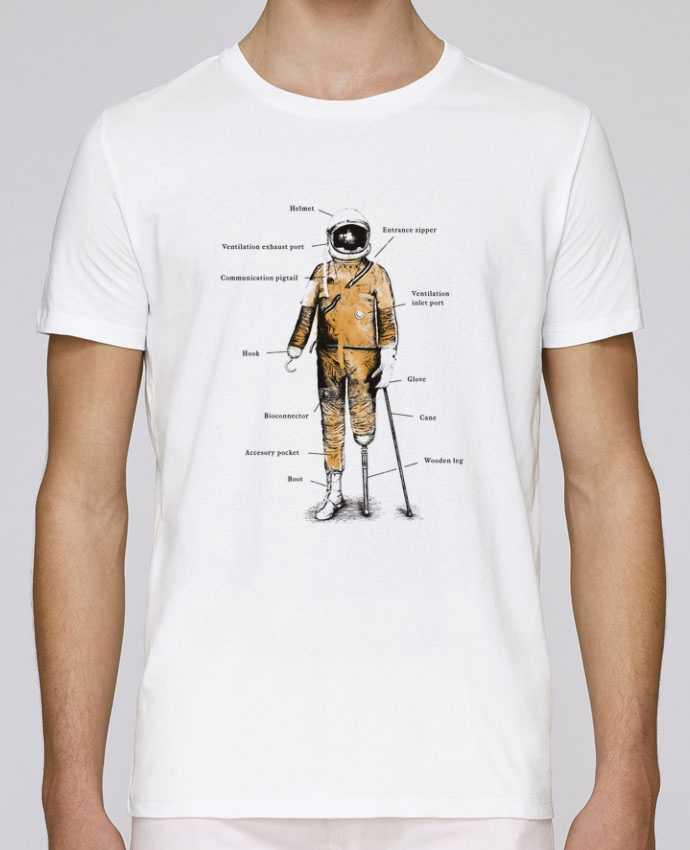 Camiseta Cuello Redondo Stanley Leads Astropirate with text por Florent Bodart