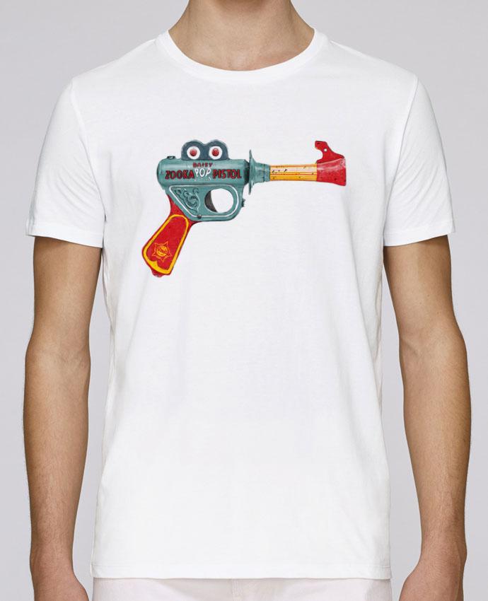 Camiseta Cuello Redondo Stanley Leads Gun Toy por Florent Bodart